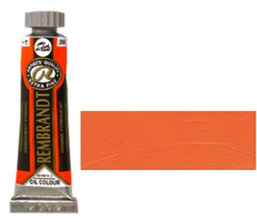 レンブラント 油絵具5号(15ml) 266パーマネントオレンジ