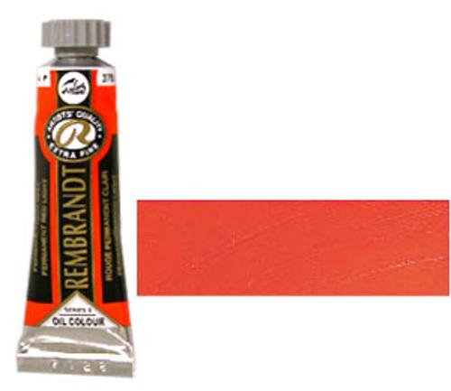 レンブラント 油絵具5号(15ml) 370パーマネントレッドライト