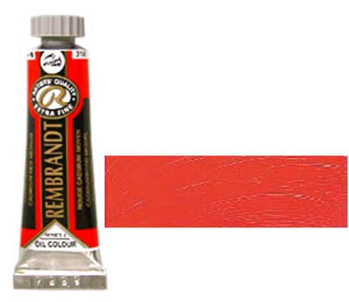 レンブラント 油絵具5号(15ml) 314カドミウムレッドミディアム