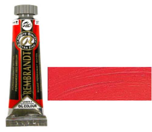 レンブラント 油絵具5号(15ml) 377パーマネントレッドミディアム