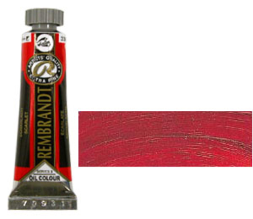 レンブラント 油絵具5号(15ml) 334スカーレット