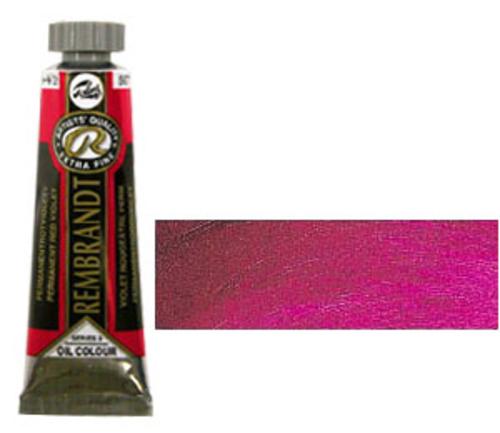 レンブラント 油絵具5号(15ml) 567パーマネントレッドバイオレット