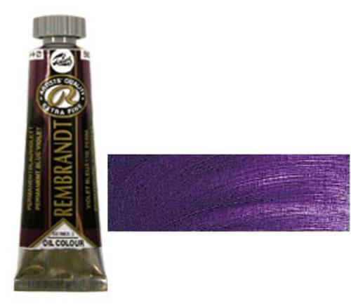 レンブラント 油絵具5号(15ml) 568パーマネントブルーバイオレット