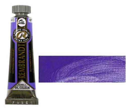レンブラント 油絵具5号(15ml) 507ウルトラマリンバイオレット
