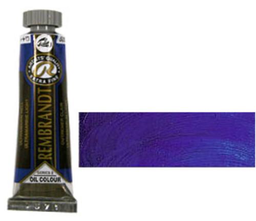 レンブラント 油絵具5号(15ml) 505ウルトラマリンライト