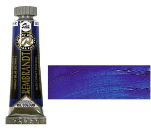 レンブラント 油絵具5号(15ml) 512コバルトブルーウルトラマリン
