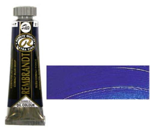 レンブラント 油絵具5号(15ml) 515コバルトブルーディープ