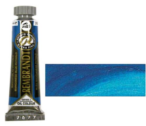 レンブラント 油絵具5号(15ml) 582マンガニースブルーフタロ