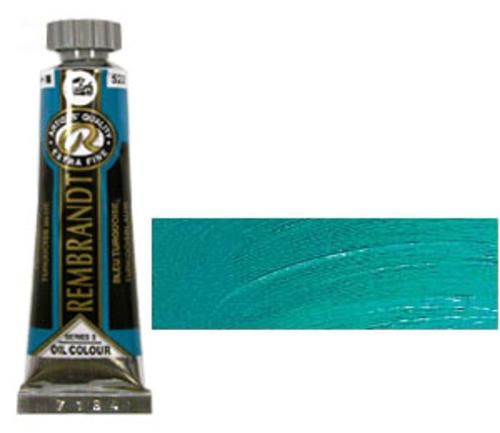 レンブラント 油絵具5号(15ml) 522ターコイズブルー