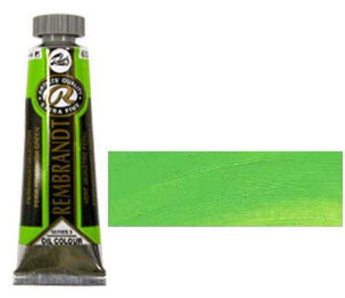 レンブラント 油絵具5号(15ml) 633パーマネントイエローイッシュグリーン