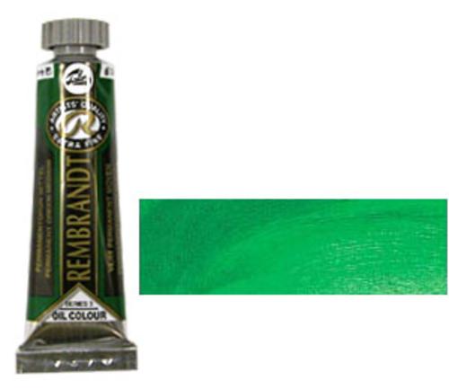 レンブラント 油絵具5号(15ml) 614パーマネントグリーンミディアム