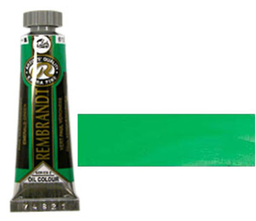 レンブラント 油絵具5号(15ml) 615エメラルドグリーン