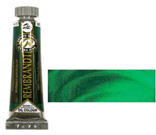 レンブラント 油絵具5号(15ml) 680フタログリーンブルー