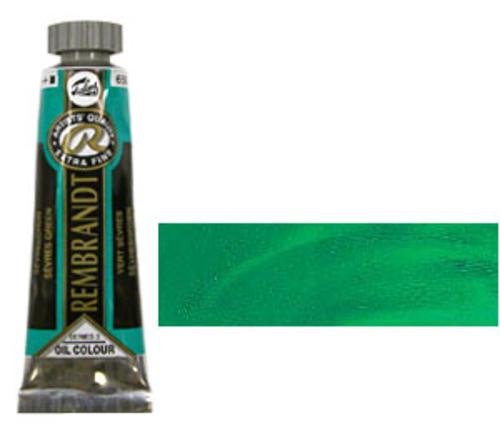 レンブラント 油絵具5号(15ml) 650セーブルスグリーン