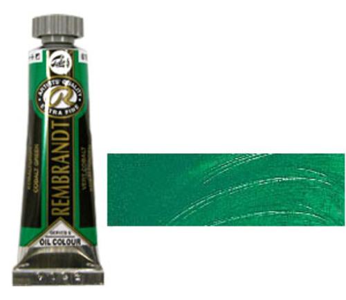 レンブラント 油絵具5号(15ml) 610コバルトグリーン