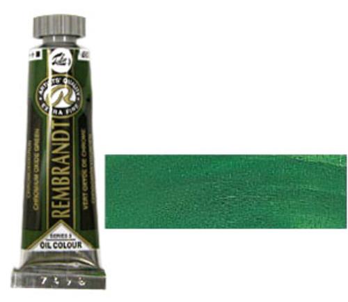 レンブラント 油絵具5号(15ml) 668クロミウムオキサイドグリーン