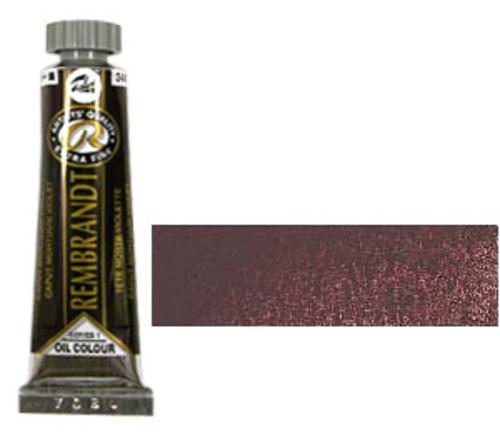 レンブラント 油絵具5号(15ml) 344キャパットモーチャムバイオレット