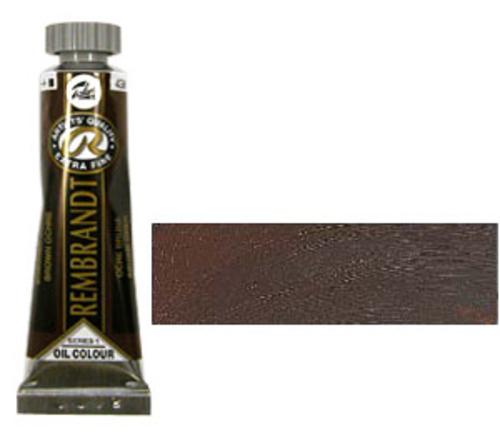 レンブラント 油絵具5号(15ml) 430ブラウンオーカー