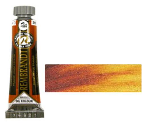 レンブラント 油絵具5号(15ml) 265トランスペアレントオキサイドイエロー