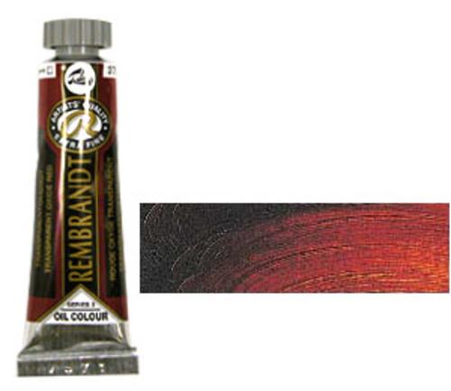 レンブラント 油絵具5号(15ml) 378トランスペアレントオキサイドレッド