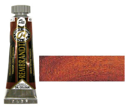 レンブラント 油絵具5号(15ml) 426トランスペアレントオキサイドブラウン