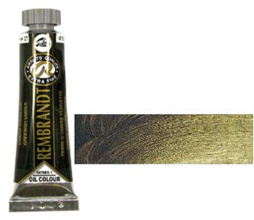 レンブラント 油絵具5号(15ml) 410グリニッシュアンバー