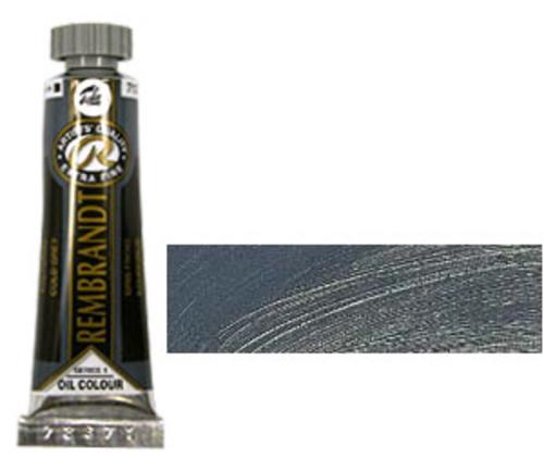レンブラント 油絵具5号(15ml) 717コールドグレー