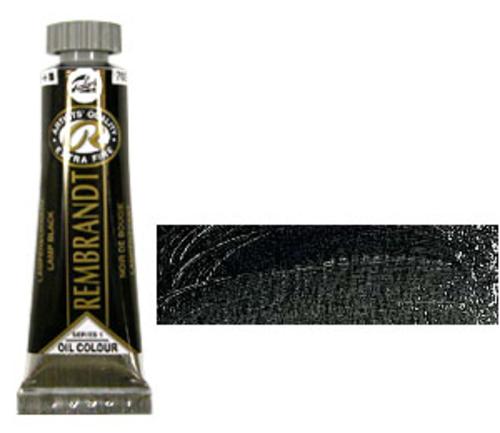レンブラント 油絵具5号(15ml) 702ランプブラック