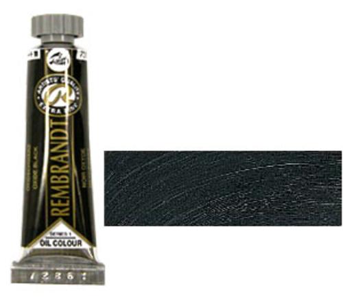 レンブラント 油絵具5号(15ml) 735オキサイドブラック