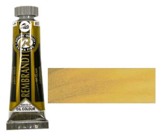 レンブラント 油絵具5号(15ml) 802ライトゴールド
