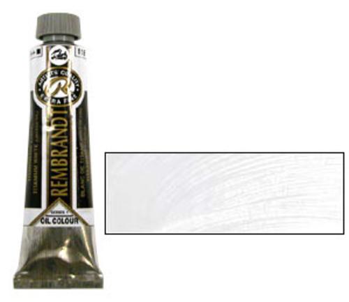 レンブラント 油絵具9号(40ml) 118チタニウムホワイト(リンシード)
