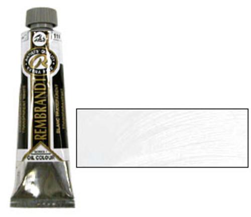 レンブラント 油絵具9号(40ml) 119トランスペアレントホワイト