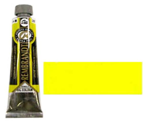 レンブラント 油絵具9号(40ml) 207カドミウムイエローレモン