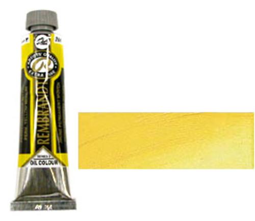 レンブラント 油絵具9号(40ml) 284パーマネントイエローミディアム
