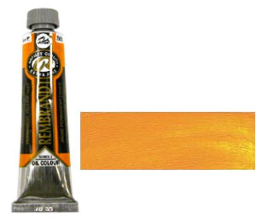レンブラント 油絵具9号(40ml) 285パーマネントイエローディープ