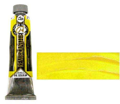 レンブラント 油絵具9号(40ml) 272トランスペアレントイエローミディアム