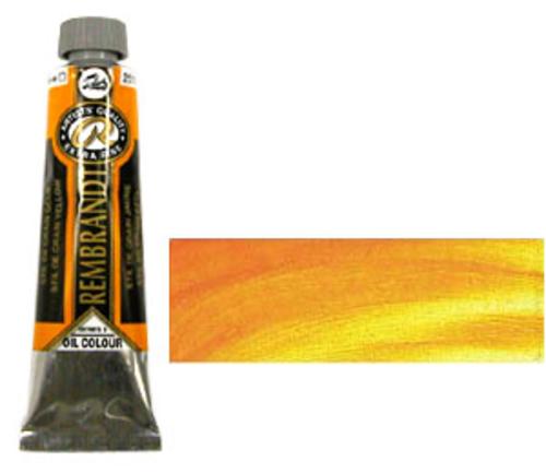 レンブラント 油絵具9号(40ml) 251スティルドグランイエロー