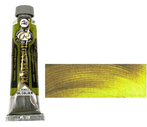 レンブラント 油絵具9号(40ml) 281トランスペアレントイエローグリーン