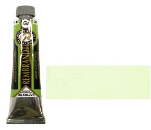 レンブラント 油絵具9号(40ml) 282ネープルスイエローグリーン