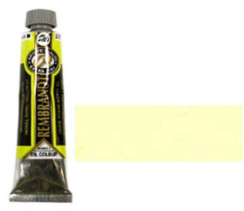 レンブラント 油絵具9号(40ml) 279ニッケルチタニウムイエローライト