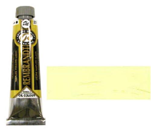 レンブラント 油絵具9号(40ml) 222ネープルスイエローライト