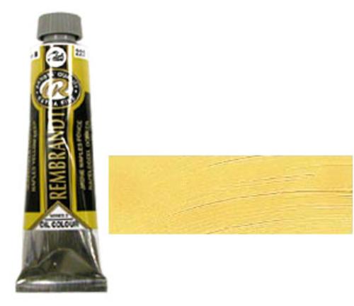 レンブラント 油絵具9号(40ml) 223ネープルスイエローディープ