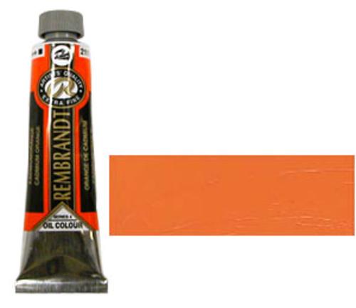 レンブラント 油絵具9号(40ml) 211カドミウムオレンジ