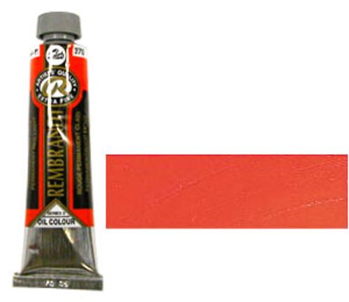 レンブラント 油絵具9号(40ml) 370パーマネントレッドライト