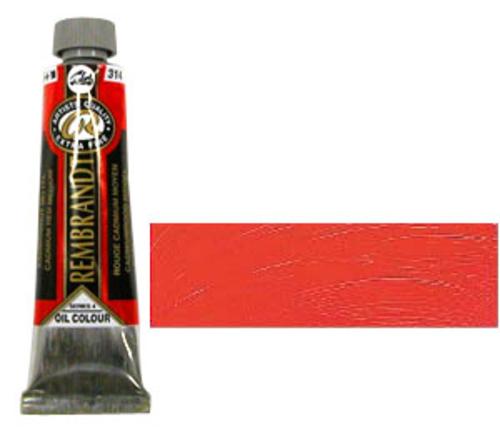 レンブラント 油絵具9号(40ml) 314カドミウムレッドミディアム