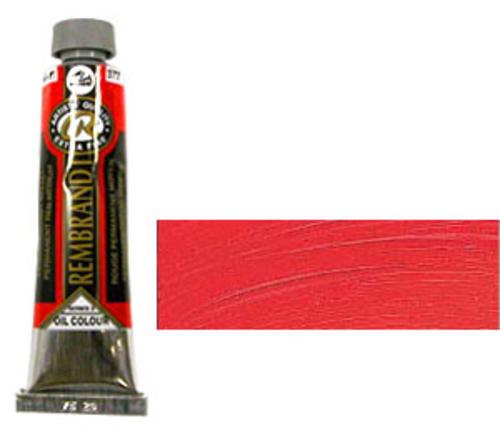レンブラント 油絵具9号(40ml) 377パーマネントレッドミディアム