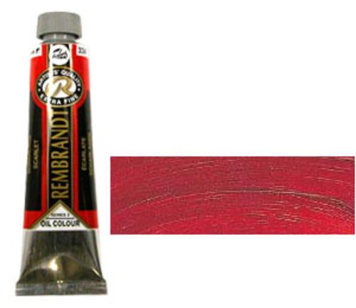 レンブラント 油絵具9号(40ml) 334スカーレット