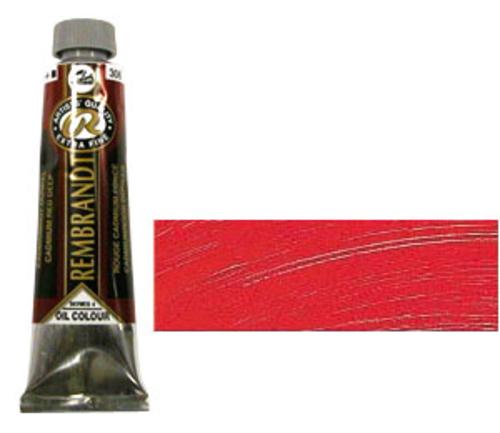 レンブラント 油絵具9号(40ml) 306カドミウムレッドディープ