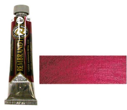 レンブラント 油絵具9号(40ml) 342パーマネントマダーディープ
