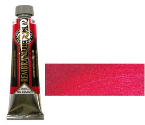 レンブラント 油絵具9号(40ml) 366キナクリドンローズ